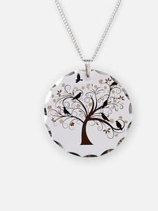 Ravens Tree Necklace