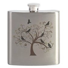 Ravens Tree Flask