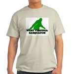 WEST VIRGINIA BIGFOOT WEST VI Ash Grey T-Shirt