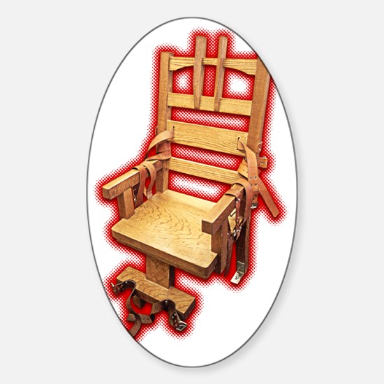 thechair Sticker (Oval)