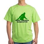 WEST VIRGINIA BIGFOOT WEST VI Green T-Shirt