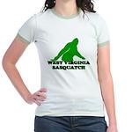 WEST VIRGINIA BIGFOOT WEST VI Jr. Ringer T-Shirt