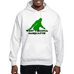 WEST VIRGINIA BIGFOOT WEST VI Hooded Sweatshirt