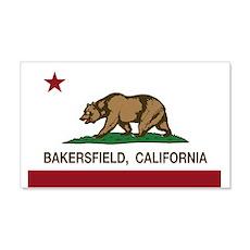 california flag bakersfield Wall Decal