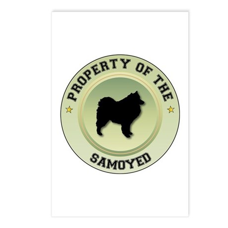 Samoyed Property Postcards (Package of 8)