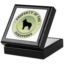 Schipperke Property Keepsake Box