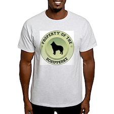 Schipperke Property Ash Grey T-Shirt