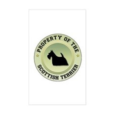 Scotty Property Rectangle Decal