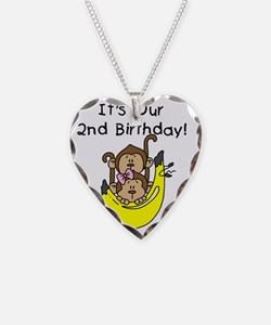 monktwins2ndbday Necklace