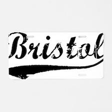 Bristol Aluminum License Plate