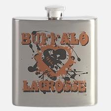 BanditHeartWht Flask