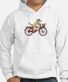 """""""Dog and Squirrel"""" Hoodie"""