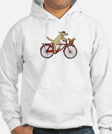 """Dog and Squirrel"" Jumper Hoody"