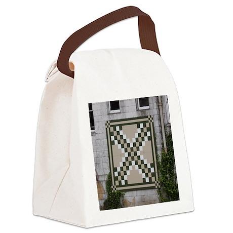 Triple Irish Chain Behind Rice Ho Canvas Lunch Bag