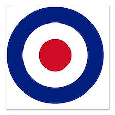 "RAF_10x10 Square Car Magnet 3"" x 3"""