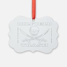 Skull Trash use dd A4 using Clear Ornament