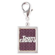 team edward 2 4-3 Silver Portrait Charm