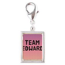 team edward 4-3 Silver Portrait Charm