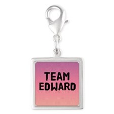 team edward 4-3 Silver Square Charm