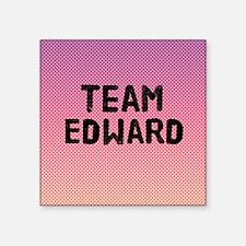 "team edward 4-3 Square Sticker 3"" x 3"""