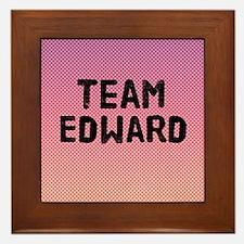team edward 4-3 Framed Tile