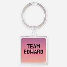 team edward 4-3 Square Keychain
