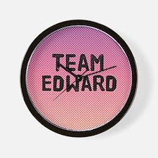 team edward 4-3 Wall Clock