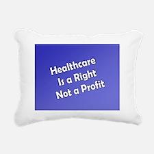 NOTE CARD Rectangular Canvas Pillow