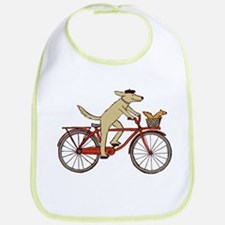 """Dog and Squirrel"" Bib"