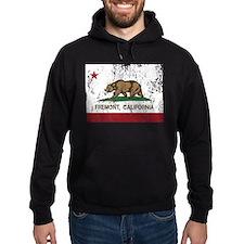 california flag fremont distressed Hoodie