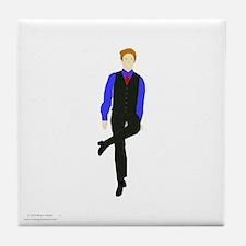 WhyDoI_10x10_DARK_apparel Tile Coaster