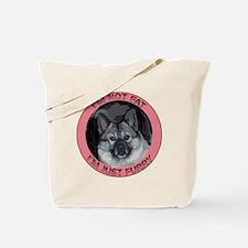 furry norwegian elkhound Tote Bag
