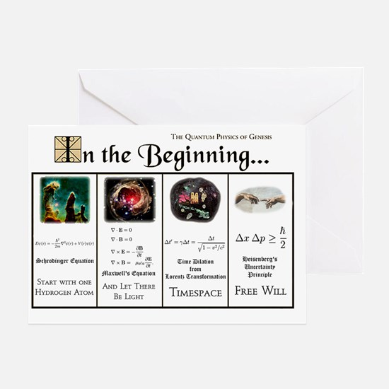 In the Beginning copy Greeting Card