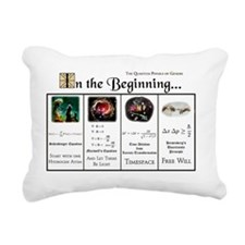 In the Beginning copy Rectangular Canvas Pillow
