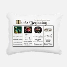 In the Beginning copy Rectangular Canvas Pillow