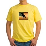 German shorthaired pointer Mens Classic Yellow T-Shirts