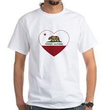 california flag fremont heart T-Shirt