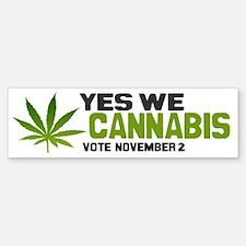 Cannabis Briefs Bumper Bumper Sticker
