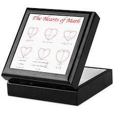 Heart Curves Keepsake Box