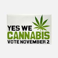 Cannabis Banner Rectangle Magnet