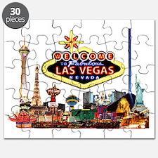 Vegas Nite Lites Puzzle