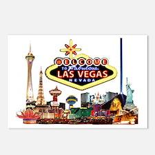 Vegas Nite Lites Postcards (Package of 8)