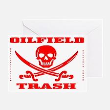 Skull Trash use cc A4 using Clear Greeting Card