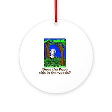 Pope-1 Round Ornament