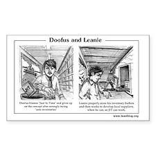 Doofus  Leanie - JIT Decal