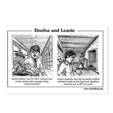 Doofus  Leanie - JIT Postcards (Package of 8)
