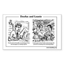Doofus  Leanie #1: Gemba Decal