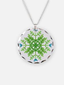 HappyHuggerMandTr Necklace Circle Charm