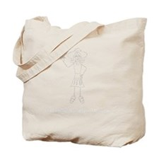 maryjane_white Tote Bag