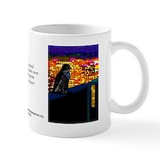 clara stands sentinel color  Mug